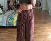 Handmade Harem Pants fun 70s inspired knit