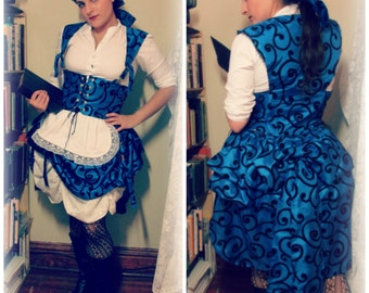 Steampunk Belle or Alice Full Costume