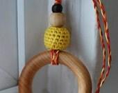 Jayne Edition: Firefly Personalized Custom Baby Shower Gift Teething Ring / Nursing necklace Serenity gorram malcolm reynolds