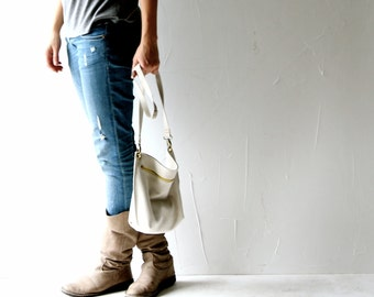 Leather bag, Purse, Clutch, Handbag, White bag, womens purse, small purse, womens bag, shoulder bag, Grey bag, clutch bag, leather purse