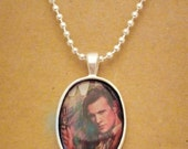 Doctor Who 11th Doctor recycled comic book pendant