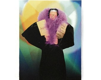 Nun greeting Cards- pack of six, Nun of a Kind