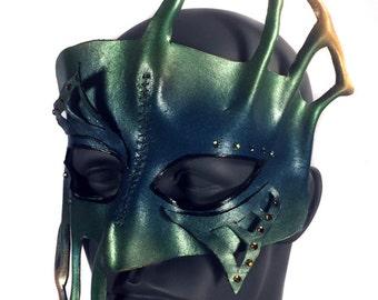 CLEARANCE SALE - Atlantis II - Leather Mask
