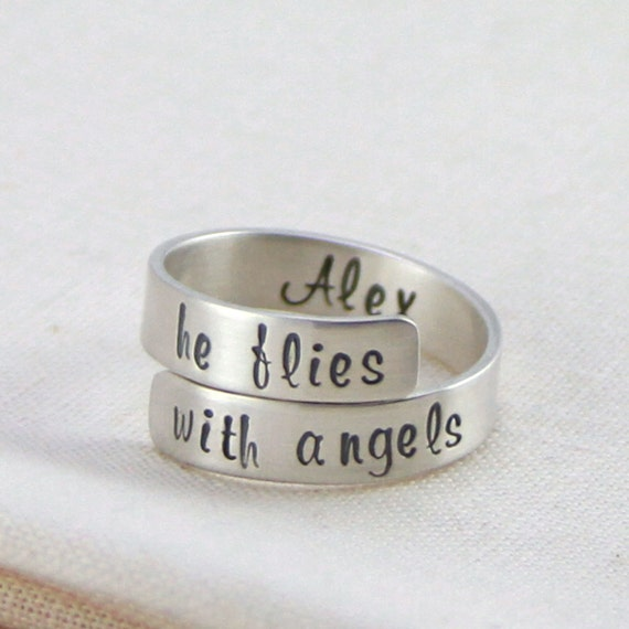 Personalized Memorial Jewelry Miscarriage Remembrance Ring