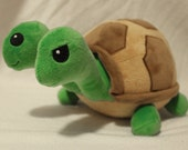 Timmy and Tommy the Two Headed Turtle Plush Doll