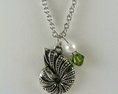 Nautilus Shell Necklace Kappa Delta Sorority OFFICIALLY LICENSED VENDOR