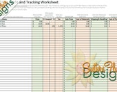 2015 Etsy Seller, Direct Checkout and PayPal Fee, Profit and Tracking Worksheet, Coupon Codes, Yearly Profit, Instant Download, print, taxes