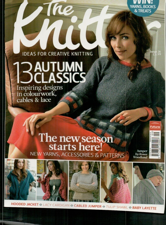 The Knitter Knitting Magazine Issue 36 September 2011