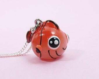 Cute Clownfish Necklace  (R3C)
