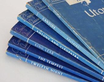 Set of 6 Crofts Classics Plays - Vintage Books c. 1940s