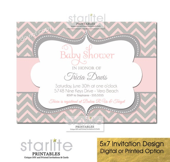 Design My Own Baby Shower Invitations Free for nice invitation template