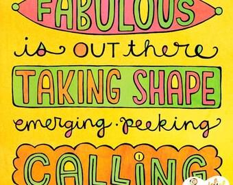 Something Calling (8x10 print)