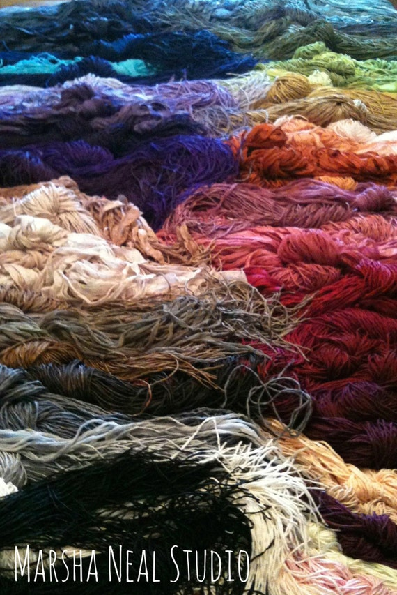 Silk Ribbons You Pick the One Color of the Three Styles of Silks Silky Ribbon Fairy Ribbon and 2mm Silk Cord
