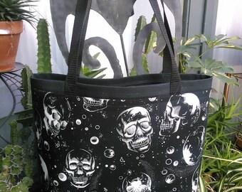 Skulls #1 Shopping or Record Bag