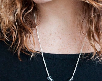 Minimal Glass Tube Necklace No. 6