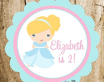 Cinderella & Friends Party - Custom Princess Party Sign by The Birthday House
