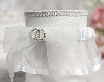 Rhinestone Rings Wedding Garter - 50330