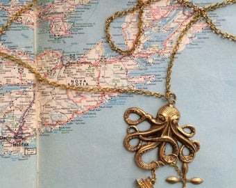 Unleash the Kraken! - Necklace