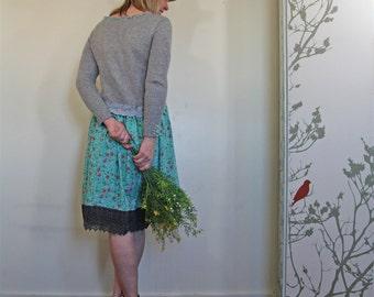 upcycled clothing . S - M . dress . alameda