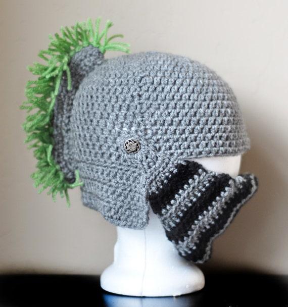 Knight Helmet Crochet Pattern Free Images - knitting patterns free ...