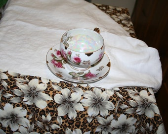 Rose Tea Cup and Saucer