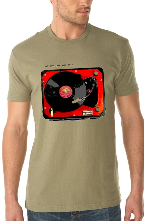 Items Similar To Turntable Shirt Vintage Design Put Your