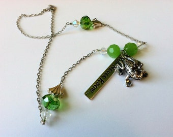 Frog and the Princess Necklace