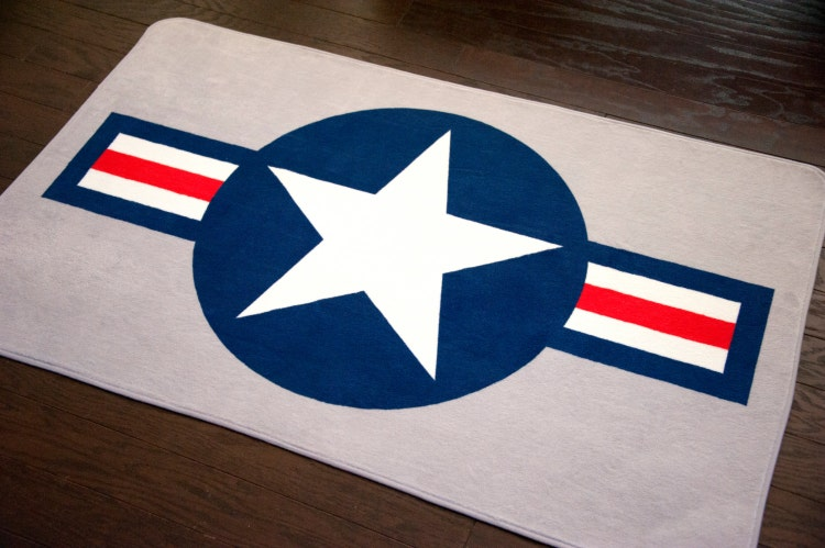Airplane Theme Rug Aviation Rug Military Rug By Nickwilljack