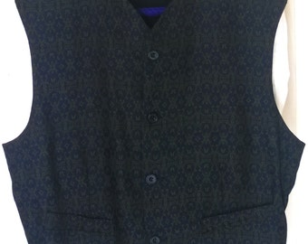 Vintage 1990s Formal Vest by Le Collezioni Structure, Made in Italy