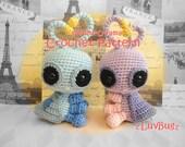 love bug crochet pattern, kawaii amigurumi love bug, plush toy bug tutorial pattern, instant download