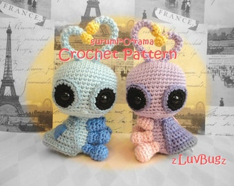 love bug crochet pattern, kawaii amigurumi love bug, plush toy bug tutorial pattern, instant download