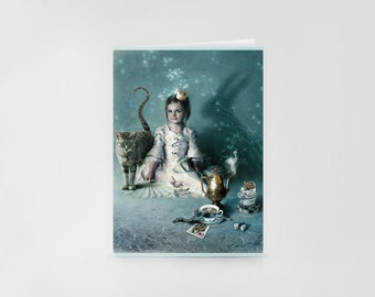 Little Empress Greeting Card // Print of Original Fantasy Illustration