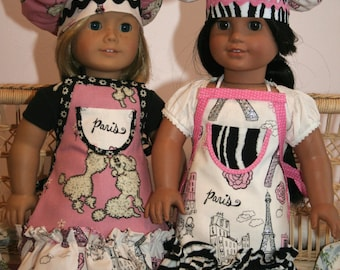 Doll Clothes - Doll Apron - Add a Matching Doll Apron
