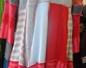 Super Cosy Sweater Dress Handmade OOAK Upcycled by Sujati Art Studio Large