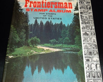 1967 Frontiersman Stamp Album For Stamps of the United States 1847-1964