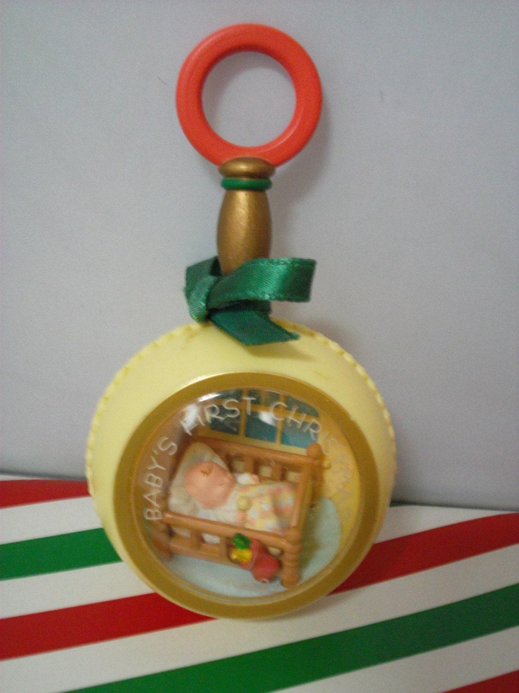 1982 Hallmark Baby S First Christmas Ornament