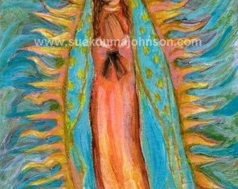 Our Lady of Guadalupe - Virgin Mary - Fine Art Print - Catholic Art