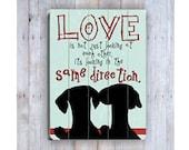Dachshund Sign, Dachshund Art, Wooden Sign, Doxie Art, Dachshund Love, Dachshund  Print, Dog Lover Gift, Dachshund Lover Gift, Wood Plank