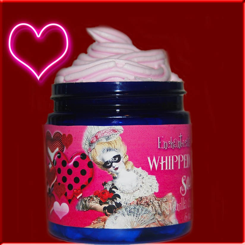 Whipped Cream Body Frosting Soap Valentines Day Scents