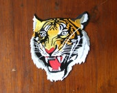 Tiger Back Patch / Biker Patch / Huge Patch