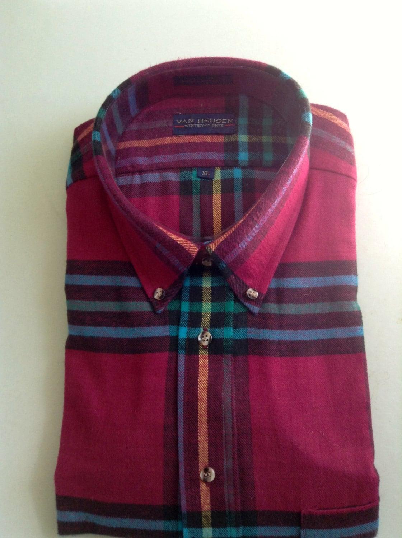 Van Heusen Button Down Collar Men 39 S Shirt Size Xl All
