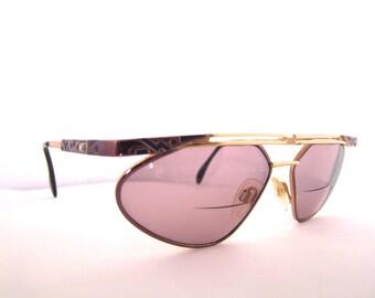 CAZAL   Vintage 1980s Eyeglasses // 80s Designer Frames // made in Western Germany // Model 256 series