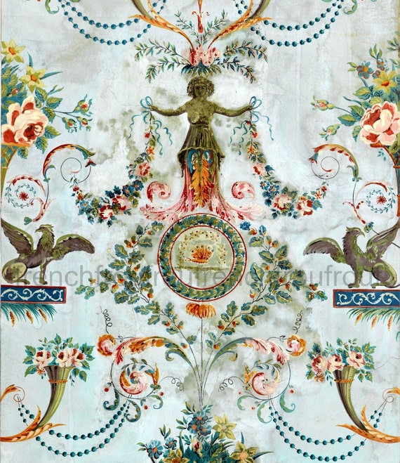 French wallpaper designs images for Old french wallpaper
