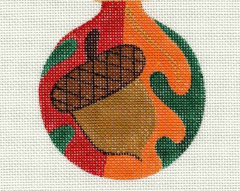 Acorn Needlepoint Ornament - Jody Designs B11/00