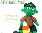 Polymer Clay FRANK Tutorial, Frankenstein's Monster - Also for Fondant, Sugar Paste, & More