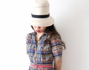 Bye Bye Blues dress, vintage, Japan, medium