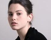 Rose Gold Ear Bar. Intersect Ear Cuff. Ear Climber