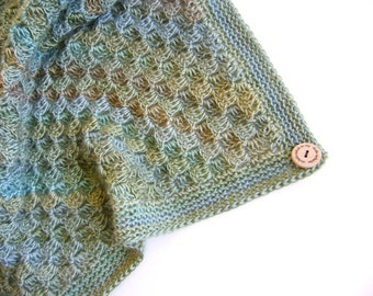 Hand Crocheted Blanket - Beautiful Colors of a Meadow