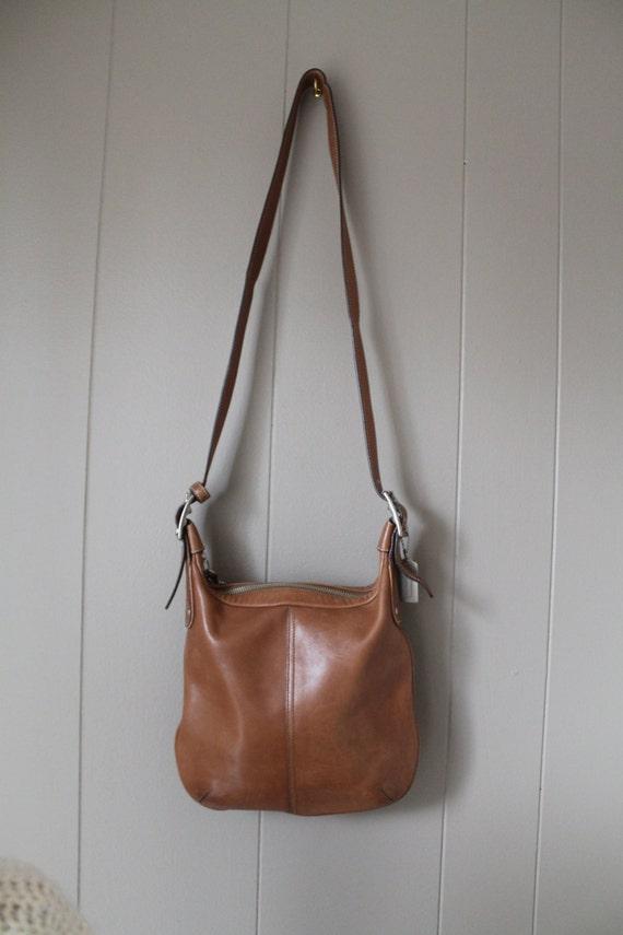 Devonshire Tan Leather Shoulder Bag 32