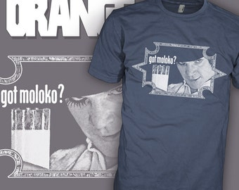 Clockwork Orange Movie T-Shirt - Got Moloko - Stanley Kubrick Shirt - Cult Film Tee Shirt